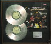 WHITESNAKE - Double platinum LP disc and cover
